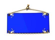 μπλε σημάδι ελεύθερη απεικόνιση δικαιώματος