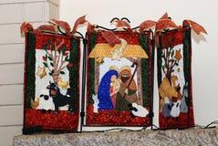 μπλε σκιά διακοσμήσεων απεικόνισης λουλουδιών Χριστουγέννων Στοκ φωτογραφία με δικαίωμα ελεύθερης χρήσης