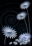 μπλε σκοτάδι ανασκόπηση&sigmaf ελεύθερη απεικόνιση δικαιώματος