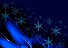 μπλε σκοτάδι καρτών Στοκ φωτογραφία με δικαίωμα ελεύθερης χρήσης