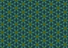 μπλε σκοτεινά floral πρότυπα απεικόνιση αποθεμάτων