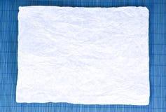 μπλε σκοτεινό έγγραφο αν&a Στοκ εικόνα με δικαίωμα ελεύθερης χρήσης