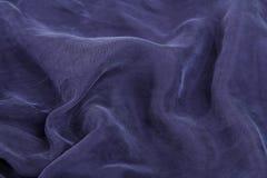 μπλε σκοτεινό σατέν στοκ φωτογραφία με δικαίωμα ελεύθερης χρήσης