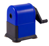 μπλε σκοτεινό sharpener στοκ εικόνα με δικαίωμα ελεύθερης χρήσης