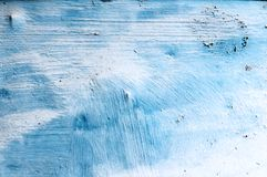μπλε σκουριασμένη σύστα&sigm Στοκ Φωτογραφίες