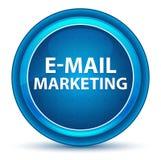 Μπλε στρογγυλό κουμπί βολβών του ματιού μάρκετινγκ ηλεκτρονικού ταχυδρομείου ελεύθερη απεικόνιση δικαιώματος