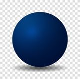 Μπλε σφαίρα σφαιρών ελεύθερη απεικόνιση δικαιώματος