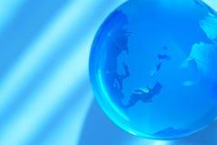 μπλε σφαίρα Στοκ Εικόνα