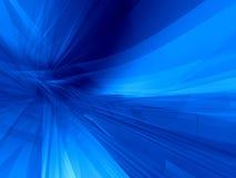 μπλε σφαιρικός ανασκόπησης Στοκ Φωτογραφίες