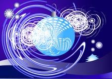 μπλε σφαιρών Στοκ φωτογραφίες με δικαίωμα ελεύθερης χρήσης