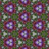 Μπλε σχέδιο άνοιξη καλειδοσκόπιων τριαντάφυλλων σχεδίων Στοκ Εικόνες