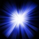 μπλε σχέδιο έκρηξης Στοκ φωτογραφία με δικαίωμα ελεύθερης χρήσης