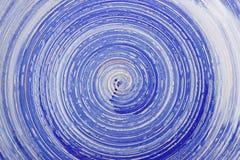 Μπλε σχολιάστε το υπόβαθρο με το σπειροειδές σχέδιο στοκ εικόνα