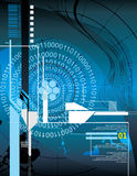 μπλε σύγχρονος ανασκόπη&sigma απεικόνιση αποθεμάτων