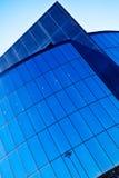 μπλε σύγχρονο γραφείο Στοκ Εικόνα