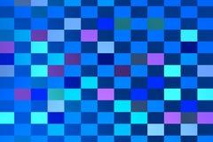 Μπλε σύνθεση με τα γαλαζωπά τετράγωνα Στοκ φωτογραφία με δικαίωμα ελεύθερης χρήσης