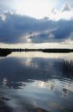 μπλε σύννεφα συμπαθητικά Στοκ Εικόνες