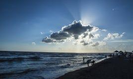 Μπλε σύννεφο της Ada Στοκ Φωτογραφίες
