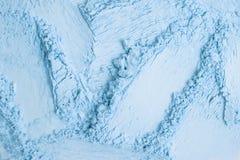 Μπλε σύνολο σκιών ματιών κλίσης που απομονώνεται στο άσπρο υπόβαθρο στοκ φωτογραφία με δικαίωμα ελεύθερης χρήσης
