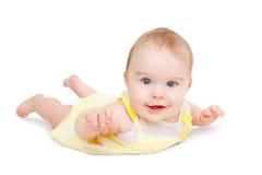 μπλε σύρσιμο μωρών eyed Στοκ Φωτογραφία