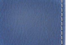 μπλε σύσταση δέρματος Στοκ εικόνες με δικαίωμα ελεύθερης χρήσης