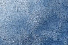 μπλε σύσταση εγγράφου Στοκ φωτογραφία με δικαίωμα ελεύθερης χρήσης