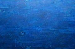 μπλε σύσταση ξύλινη πρόσκληση συγχαρητηρίων καρτών ανασκόπησης Απλή έννοια σύστασης Στοκ Φωτογραφία