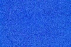 Μπλε σύσταση πετσετών Κινηματογράφηση σε πρώτο πλάνο ενός σφουγγαριού πετσετών στοκ φωτογραφία με δικαίωμα ελεύθερης χρήσης