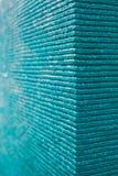 Μπλε σύσταση υποβάθρου νερού Aqua Στοκ Φωτογραφία