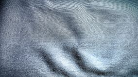 Μπλε σύσταση υποβάθρου υφασμάτων υφάσματος Στοκ εικόνες με δικαίωμα ελεύθερης χρήσης