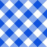 μπλε σύσταση υφάσματος επίσης corel σύρετε το διάνυσμα απεικόνισης Στοκ Εικόνα