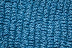 μπλε σύσταση υφάσματος στοκ εικόνα με δικαίωμα ελεύθερης χρήσης