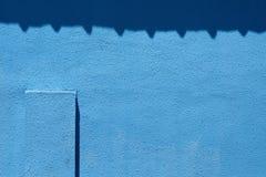 Μπλε σύσταση grunge, σκούρο μπλε υπόβαθρο τοίχων Στοκ Φωτογραφία