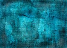 Μπλε σύσταση grunge - τέλεια ανασκόπηση με το διάστημα για το κείμενο Στοκ Εικόνες