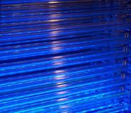 μπλε σύστημα ψύξης Στοκ Φωτογραφία