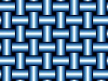 μπλε τακτική ύφανση Στοκ Φωτογραφίες