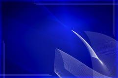 μπλε ταπετσαρία τεχνολ&omicr Στοκ εικόνες με δικαίωμα ελεύθερης χρήσης