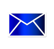 μπλε ταχυδρομείο Στοκ εικόνα με δικαίωμα ελεύθερης χρήσης