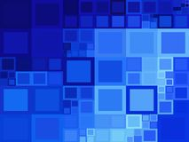Μπλε τετραγωνικά υπόβαθρα στοκ φωτογραφία με δικαίωμα ελεύθερης χρήσης