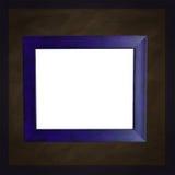 μπλε τετραγωνικό λευκό πλαισίων πινάκων κιμωλίας Στοκ εικόνες με δικαίωμα ελεύθερης χρήσης
