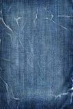 μπλε τζιν βαμβακιού Στοκ Φωτογραφίες