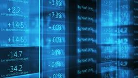 Μπλε τηλέτυπο Γουώλ Στρητ χρηματιστηρίου Cinematic - V1 φιλμ μικρού μήκους