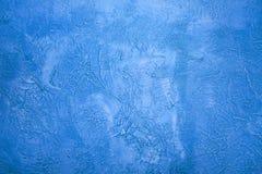 μπλε τοίχος Στοκ εικόνες με δικαίωμα ελεύθερης χρήσης