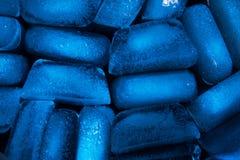Μπλε τονισμένη σύσταση φραγμών πάγου στοκ φωτογραφία με δικαίωμα ελεύθερης χρήσης