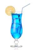 Μπλε τροπικό κοκτέιλ Στοκ φωτογραφία με δικαίωμα ελεύθερης χρήσης