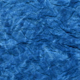 μπλε τσαλακωμένο watercolor ανασ& Στοκ φωτογραφία με δικαίωμα ελεύθερης χρήσης