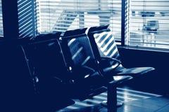 μπλε τόνος σειρών εδρών αε Στοκ Φωτογραφία