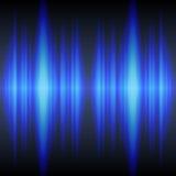 μπλε υγιή κύματα Στοκ Εικόνες