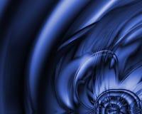 μπλε υγρό Στοκ Εικόνα