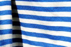 μπλε υλικό λευκό 3 Στοκ Φωτογραφία